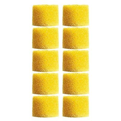 Shure EAYLF1-100 Yellow Universal Foam Ear sleeves tips SE series, Bulk 100 Pcs