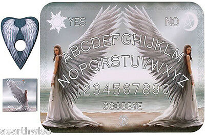 SPIRIT GUIDE ANGEL BOARD BY ANNE STOKES Wicca Pagan Witch Goth Punk Spell
