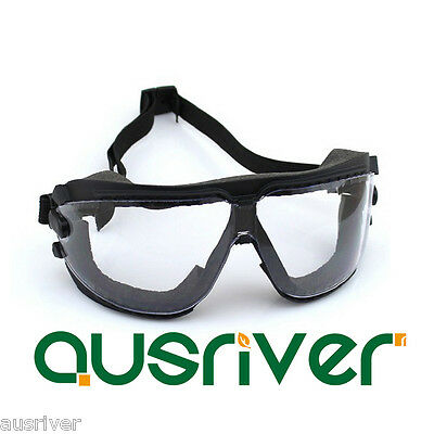 1-3 Pairs 3M 16618 Anti-Dust/Fog Protective Eyewear Goggles withAdjustable Strap