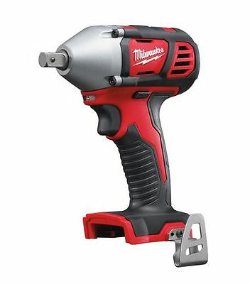 Brand New Milwaukee 18V Cordless M18Biw12-0 Impact Wrench Skin Bare Tool Only