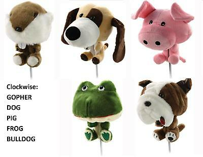 Club Huggers - Novelty Premium Animal Golf Head Cover - Great Gift for a Golfer