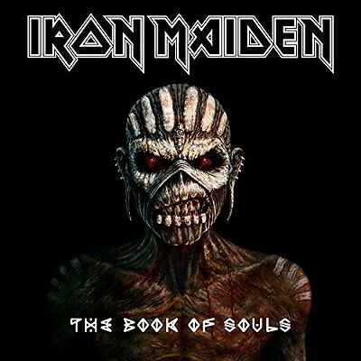 The Book Of Souls by Iron Maiden New Music CD