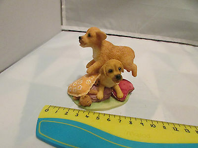 Collectible World Studios JUMP for JOY Tails of Love PUPPY / Dog Figure 1997