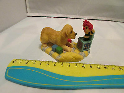 Collectible World Studios BOO !! Tails of Love PUPPY / Dog Figure 1997