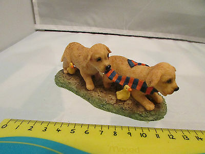 Collectible World Studios FOLLOW the LEADER Tails Love PUPPY / Dog Figure 1997