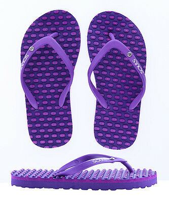 Souls 'Comfort' Australian Massage Thong - Purplish Bling (KIDS)