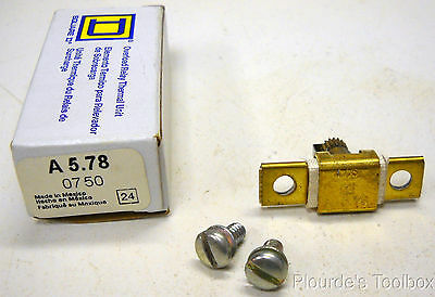 New Square D A5.78 Overload Relay Thermal Unit