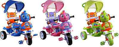 Three Wheel Bike Tricycle Scooter Baby Child Elephant Infant Trike Parent Handle