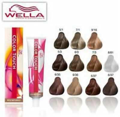 Wella Colour Touch Professional Pure, Rich, Reds, Deep Browns, Special Mix Tubes