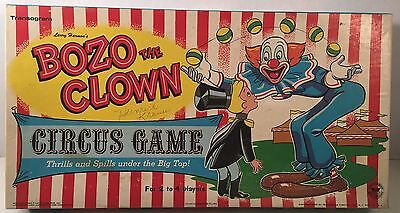 Vintage Transogram Bozo the Clown Circus Game