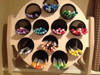 Copic Sketch Marker Ciao Manga Storage Rack Display Stand