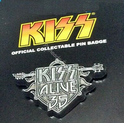 Kiss Rock Group Alive 35 Fan Collector Pin