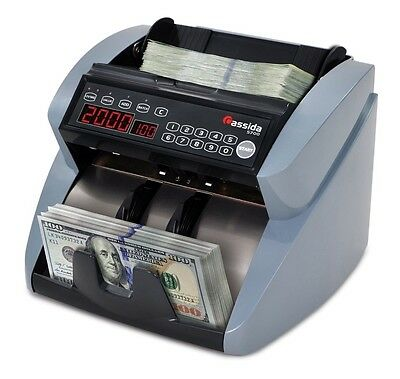 Cassida 5700 UV/MG currency counter w/ValuCount B-5700UM Currency Counter NEW