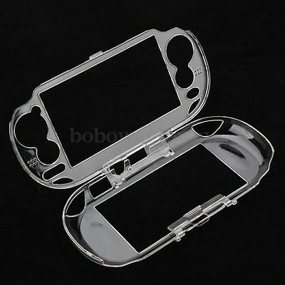 Clear Crystal Plastic Hard Skin Case Cover Shell for Sony PS Vita PSV 1000 NEW