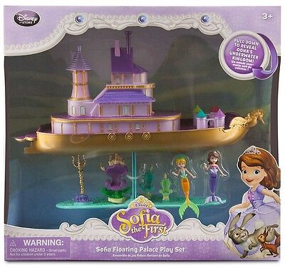 Authentic Disney Sofia The First Floating Palace  Nib