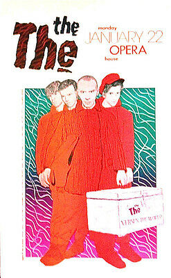 The THE (ENGLAND) Versus the World -BY JAGMO Signed - Original AUSTIN TX SCARCE