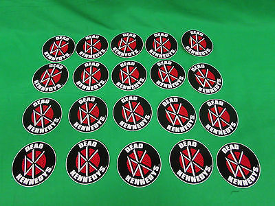 Lot of 10 DEAD KENNEDYS LOGO - Stickers- BRAND NEW -