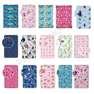 Fitted Sheets Kids Character Shopkins, Peppa, Spiderman - Single + Junior