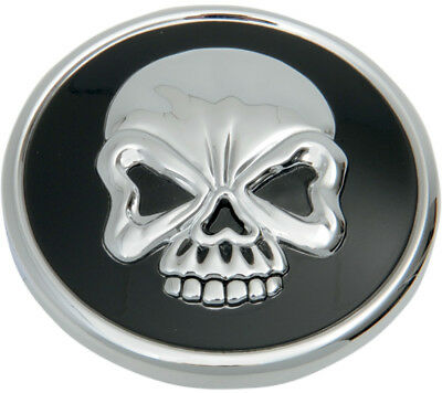 Drag Specialties Skull Vented Gas Cap For Harley-Davidson Black 0703-0523