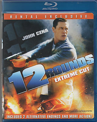 12 Rounds (Extreme Cut, Blu-ray) Rental Exclusive