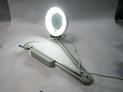 Luxo Magnifier Swivel Arm Table Working Light