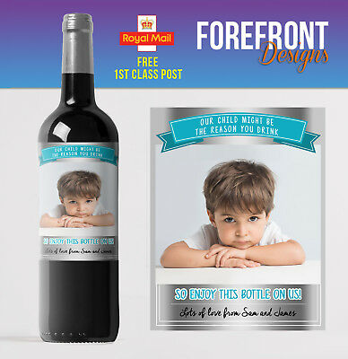 Personalised Wine bottle label,Reason you drink, Birthday/ Wedding /Any occasion