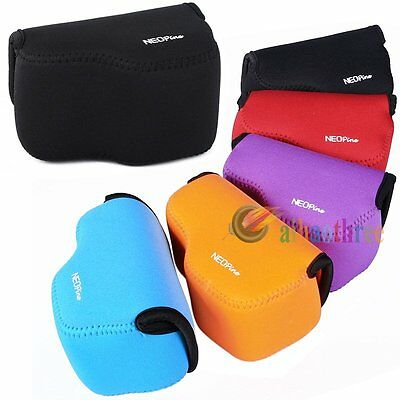 5 Colors NEOpine Soft Camera Protector Case Bag Cover For Sony A6000 16-50mm
