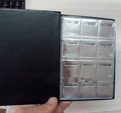 KEKU120 Coin Holders Collection Storage Penny Money Pocket Album Book Collecting