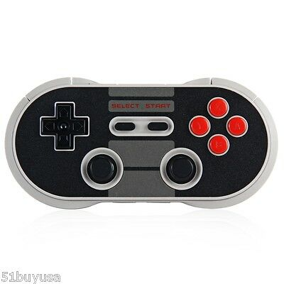 New 8Bitdo NES30 PRO Bluetooth Wireless Controller GamePad For iOS Android PC