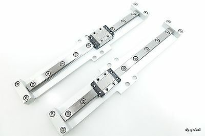 RSR9KMUU+174L THK Used LM Guide Miniature Linear Bearing 2Rail 2Block with plate