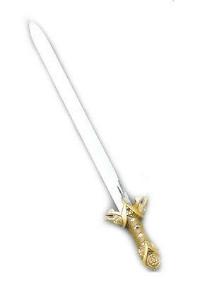 Ancient Knight Sword Medieval Old English Solider Fancy Dress Plastic Toy Weapon
