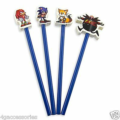 Sonic the Hedgehog Pencil Topper Erasers UK