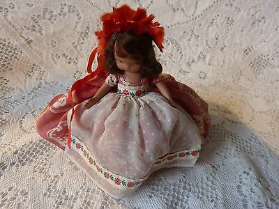 """""""Saturday's Child Must Work For a Living"""" #185 Nancy Ann Storybook Doll Brunette"""