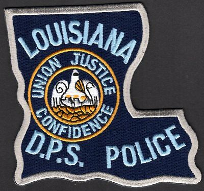 😎😎  Louisiana D.P.S. Police Shoulder Patch Department of Public Safety