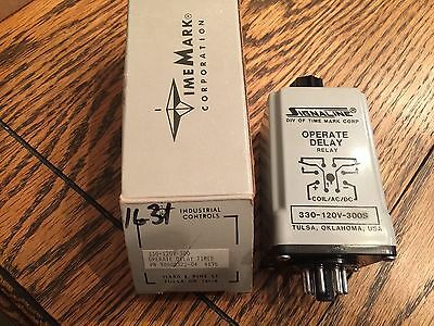 Signaline/Time Mark 330-120V-300S OPERATE DELAY RELAY NEW IN BOX