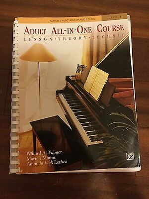 Piano 1 adult all in one course