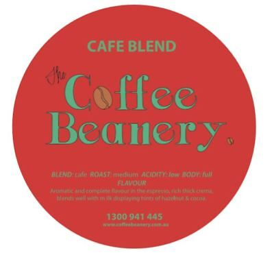 Coffee Beanery Cafe Blend Roasted Coffee Beans. 5 Kilo