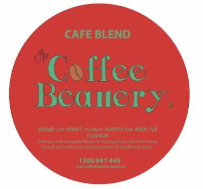 Coffee Beanery Cafe Blend Roasted Coffee Beans. 3 Kilo