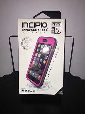 Incipio Performance Series Level 5 Ultra-Rugged for iPhone 6/6s - Pink/Gray