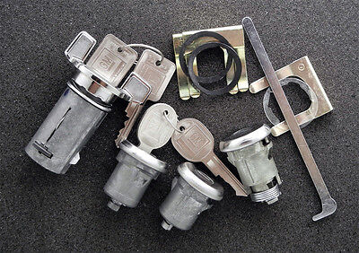 1969 Chevrolet Nova Ignition Door Trunk Locks Lock
