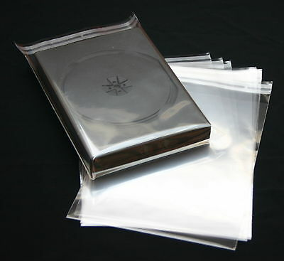 300 St. DVD Protective covers with Closure for Hüllen to 27 mm thick