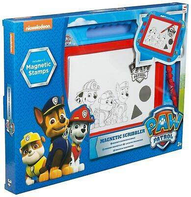 Paw Patrol Large Magnetic Scribbler Features Marshall Chase Rubble