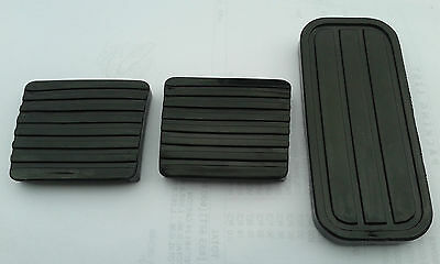 Vw Mk1 Golf Brake Clutch And Gas Pedal Rubbers Black Gti