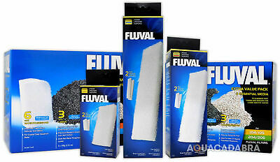 Fluval External Filter Foam Pad Fish Tank Media Pack Aquarium 105,205,305,405