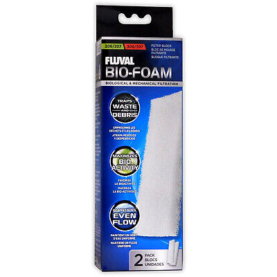 Fluval External Filter Foam Pad 204/205/206 304/305/306 Media Aquarium Fish Tank