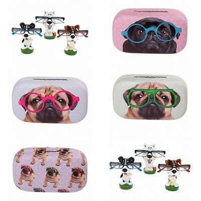 Quirky Animal / Dog Glasses Specs Holder Spectacles Rest Contact Lens Case