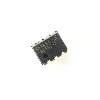 5PCS IC NE5534P NE5534AN TI/NXP DIP-8 Low-Noise Operational Amplifier NEW