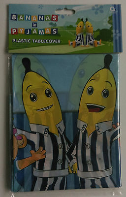Bananas in Pyjamas Plastic Table Cover Kids Children's Birthday Party