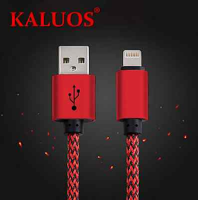 Long 3M Kaluos Strong USB Cable for iPhone 6S 6 5S 7 Data Charger Extension Lead