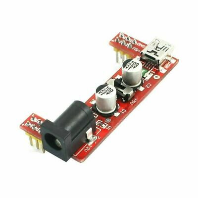 Solderless MB-102 Breadboard Power Supply Dual 5V and 3.3V DC Jack and Mini USB